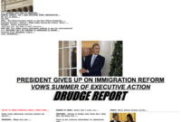 Why Drudge Report Remains The Best-Designed News Website Of in Drudge Report Template