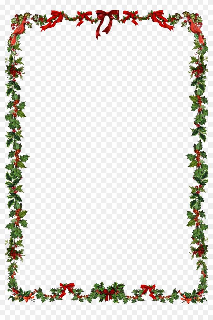 Word Document Christmas Border Clipart For Word In Christmas Border Word Template